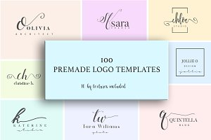 Ichic Premade Logo Templates Pack