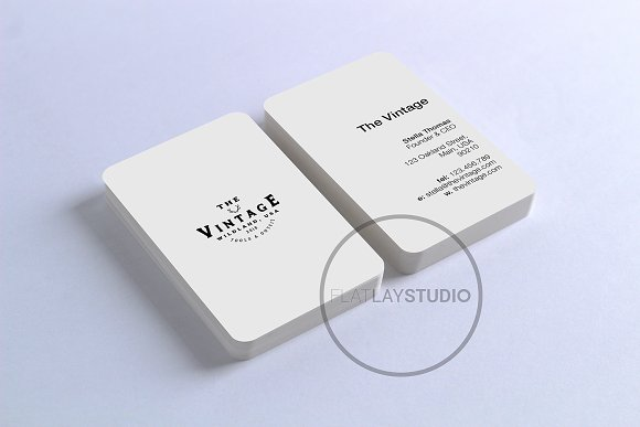 BUSINESS CARD MOCKUP #125