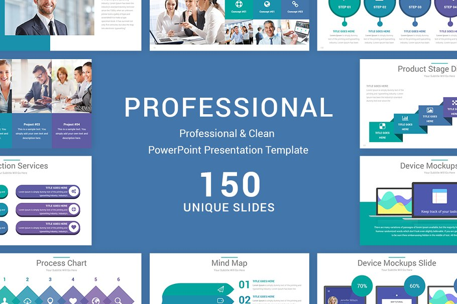 Professional Powerpoint Template Powerpoint Templates