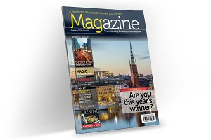 Magazine Template InDesign 01