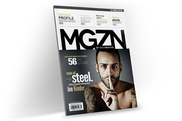 Magazine Template InDesign 02
