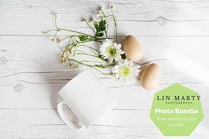White Mug Mockup Bundle
