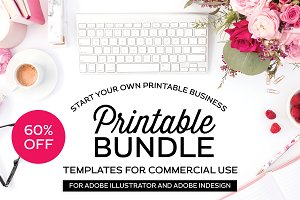Printable Template Bundle