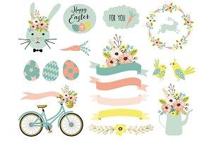 20 Spring & Easter elements