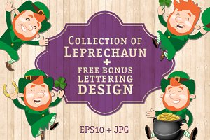 Leprechaun Set for St. Patricks day