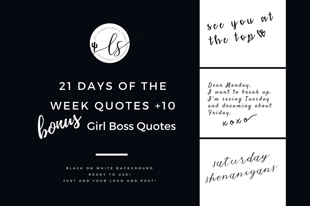 Sassy Days Of The Week Quotes