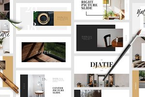 DJATIE PowerPoint Template