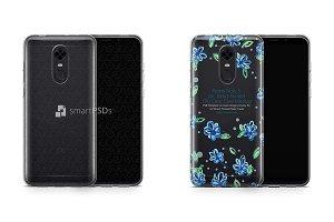 Redmi Note 5 TPU Clear Case Mockup