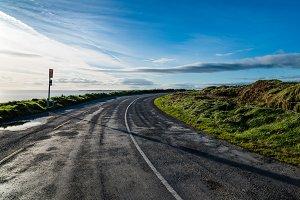 Scenic view of the Wild Atlantic Way in Ireland