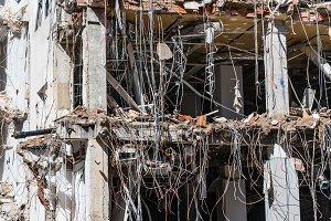 Demolition work of office building