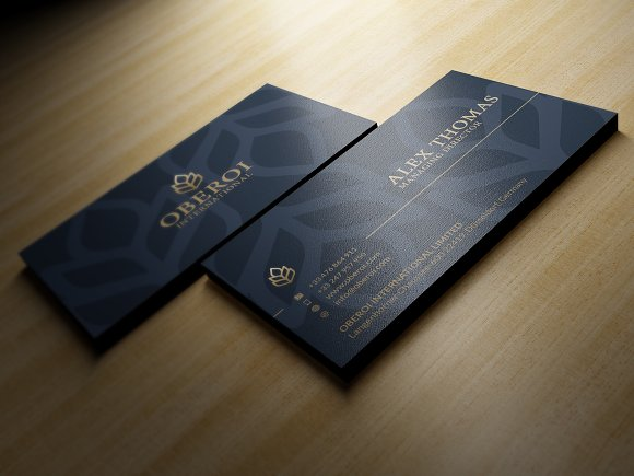 Luxury business card business card templates creative market reheart