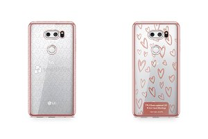 LG V30 TPU Electroplated Case