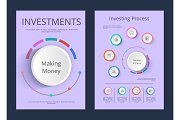 Investments and Investing Process Infographics