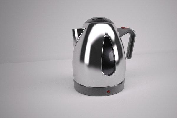 3D Appliances: Graphics834 - Electric Kettle