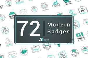 Modern Badges Logos Pack