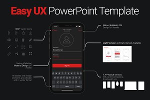 Easy UX PowerPoint Template
