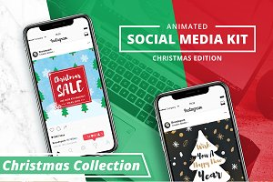 ANIMATED - Christmas Instagram Posts