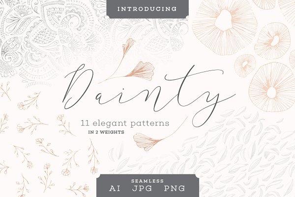 11 Dainty Patterns