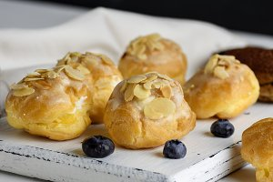 baked profiteroles