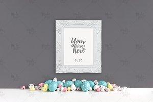 Easter frame mockup #9359