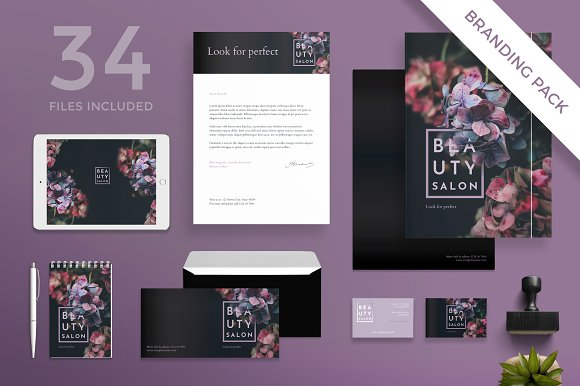 Branding Pack Beauty Salon