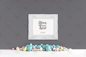 Easter frame mockup #9360