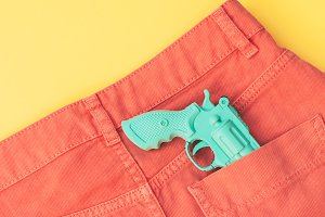 gun in the pocket