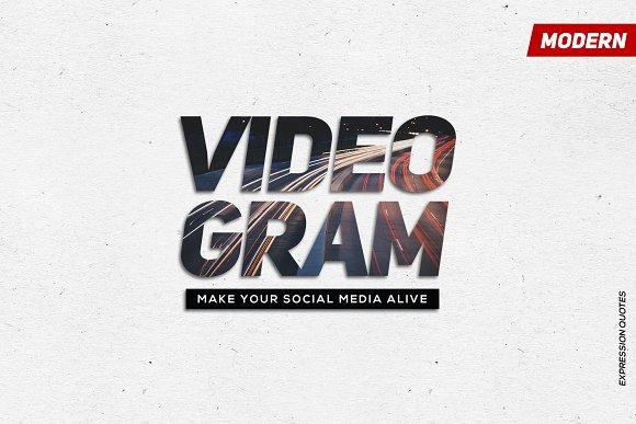 VIDEOGRAM Simple Quotes