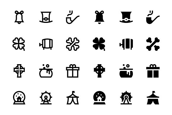 80 Holidays Icons