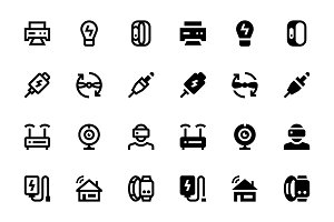 96 Device Icons