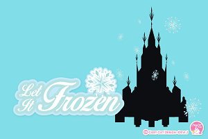 Digital Clipart, Let It Frozen
