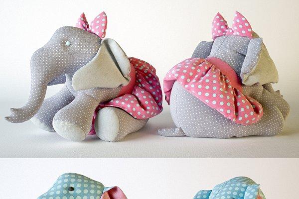 Animal: anna-archi shop - Elephant toys
