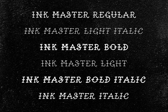 Cool Retro Old School Tattoo Font in Tattoo Fonts - product preview 1
