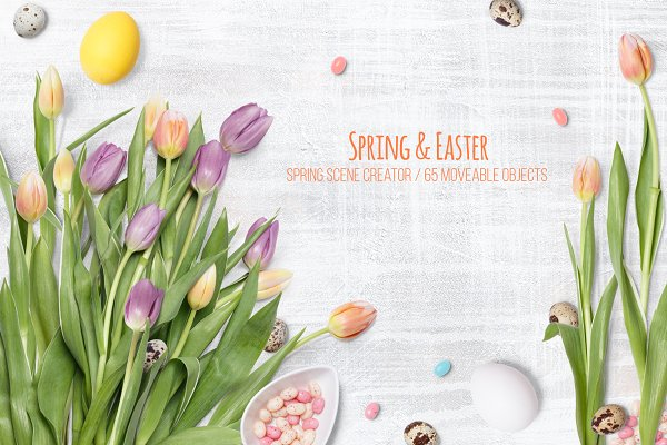 Spring and Easter Scene Creator