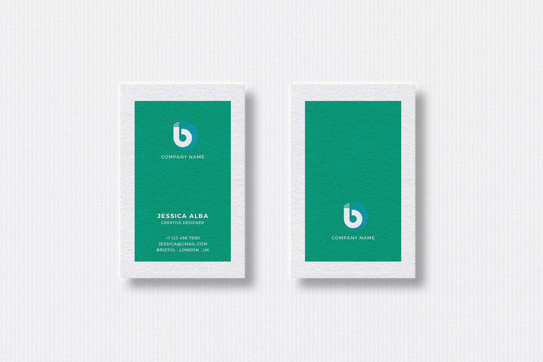 Business card template business card templates creative market reheart Gallery
