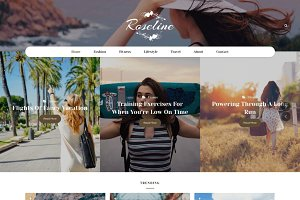 Roseline - WordPress Blog Theme