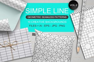 Seamless geometric patterns vol 2