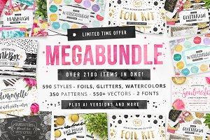 LIMITED TIME Megabundle 2100+ items!