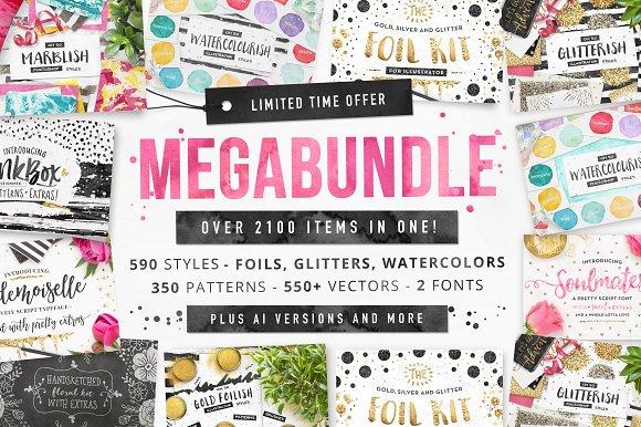 LIMITED TIME Megabundle 2100 Items