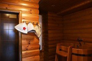 Russian sauna banya