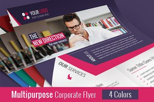 Clean Business Flyer ( PSD )