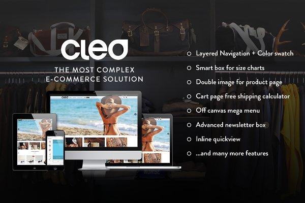 Magento Themes: WeltPixel - Cleo - Responsive Magento Template