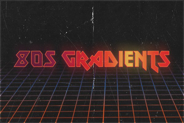 Photoshop Gradients: Creative Supplies Co. - 80s Gradients