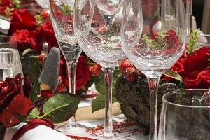 Christmas and tableware