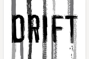 Drift lettering Image