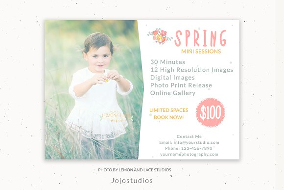 Spring Photography Marketing