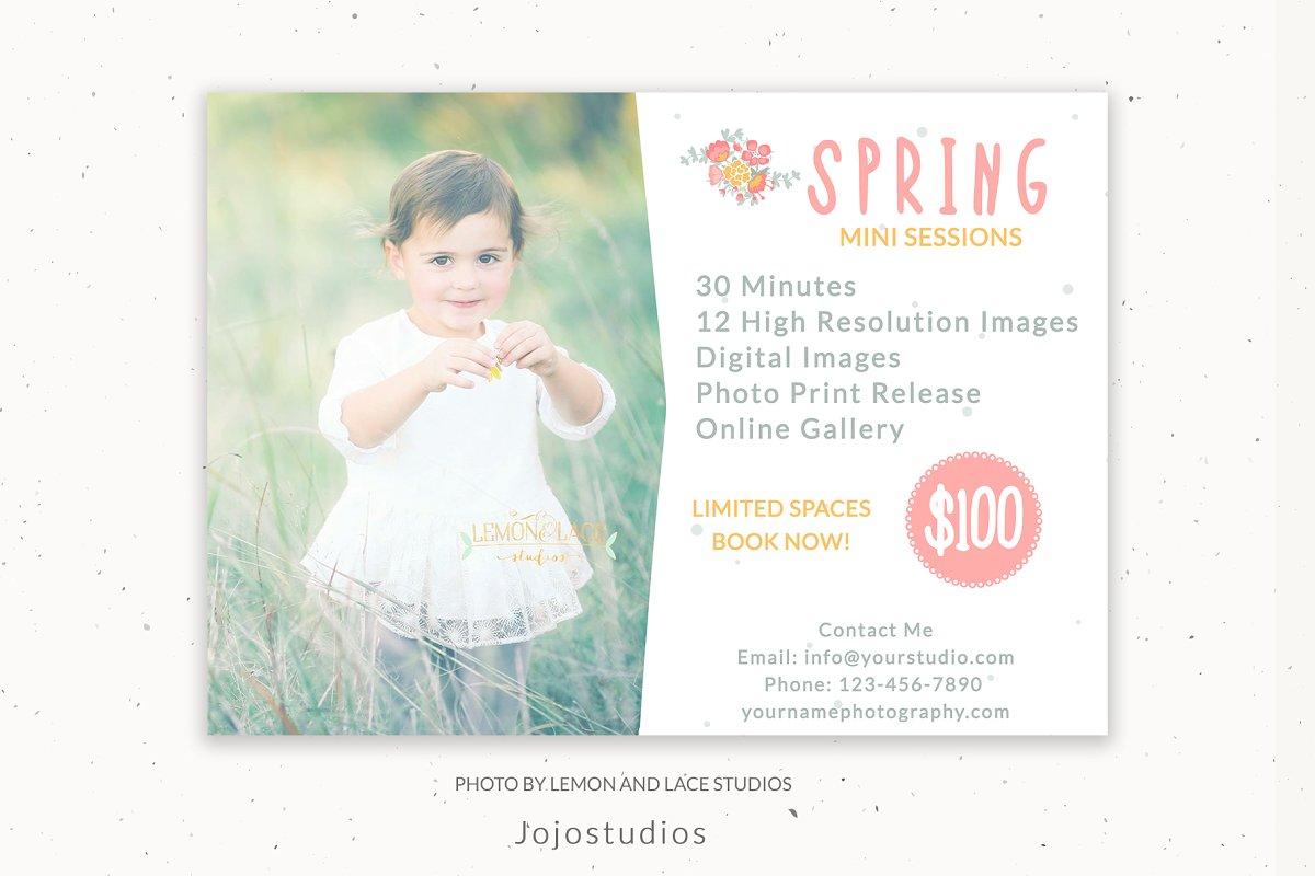 Spring Photography Marketing