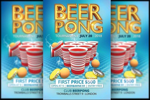 Beerpong Flyer