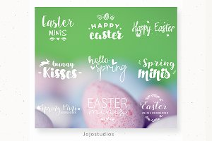 Photography Overlays - Easter