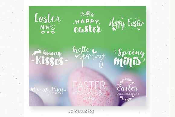Photography Overlays Easter